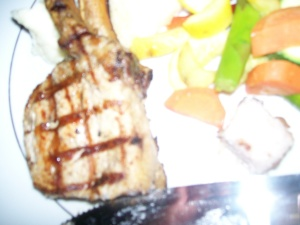 The Carlyle Club Pork chop