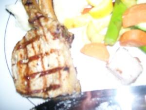 The Carlyle Club Pork chop