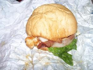 Fanfare Eatery Chicken Sandwich