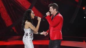 robin thicke and olivia on duets
