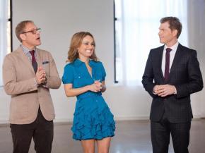 Food Network Star Coaches Bobby Flay, Giada de Laurentiis and Alton Brown