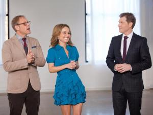 Food Network Star Coaches Bobby Flay, Giada de Laurentiis and Alton Brown
