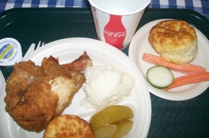 Food from Miss Lillian's Chicken House