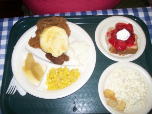 food from Dollywood's Miss Lillian's Chicken House