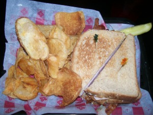 Jersey Girl Diner Club Sandwich