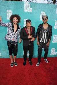 lmfao mtv movie awards 2012
