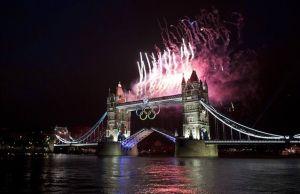 tower bridge opening ceremony fireworks