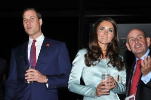 William and Kate at 2012 Olympics Opening Ceremony
