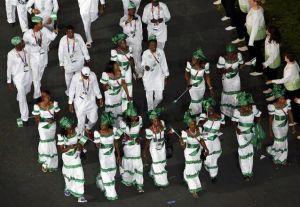 Team Nigeria 2012 Olympics