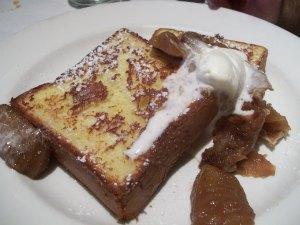 Mon Ami Gabi's Vanilla French Toast