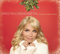 "Our favorite ""fun"" Christmas album, Kristin Chenoweth's ""A Lovely Way to Spend Christmas""- image from wikpedia"