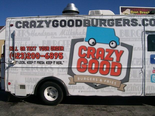 crazy good burgers truck