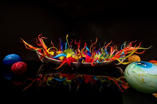 Fiori Boat, 2012, Virginia Museum of Fine Arts, Richmond, 6x19X10' Photo: Scott M. Leen