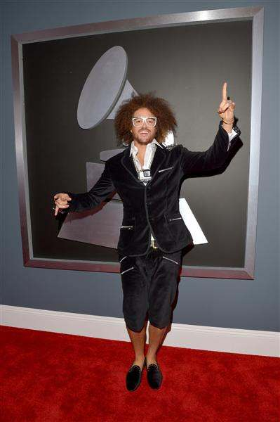 redfoo of LMFAO 2013 grammys