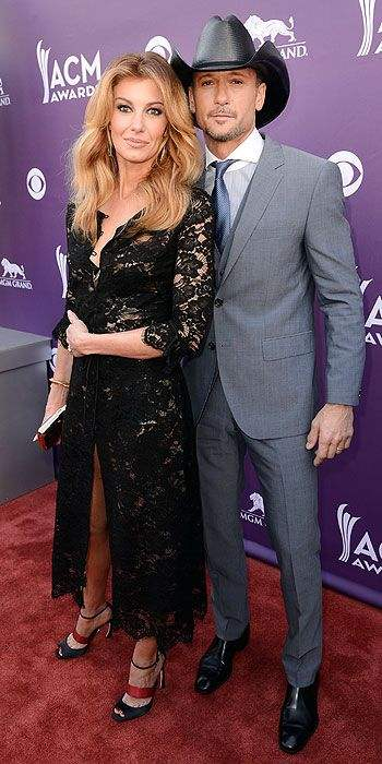 tim mcgraw and faith hill ACM 2013