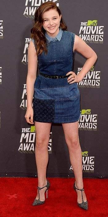 chloe moretz 2013 mtv movie awards