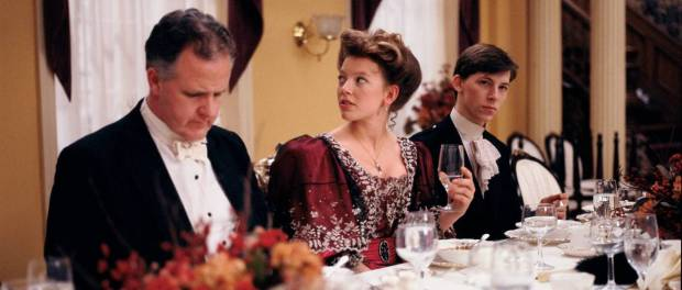 an example of one of Felicity's beautiful gowns image from roadtoavonlea.com