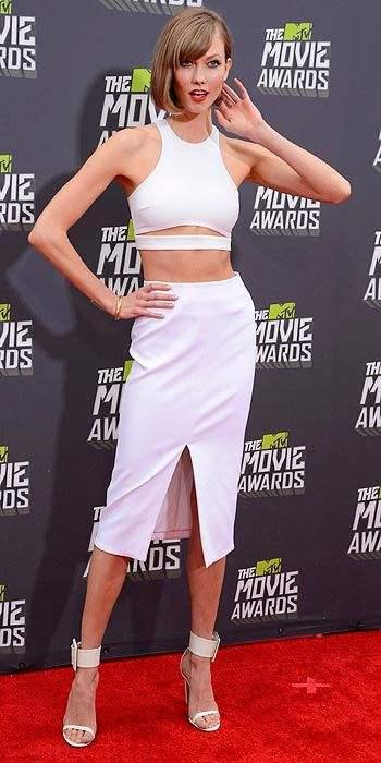 karlie kloss 2013 MTV movie awards