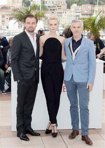 leonardo dicaprio carey mulligan and baz luhrman 2013 cannes