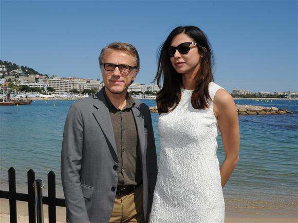 christoph waltz 2013 cannes