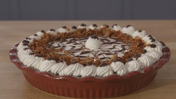 Francine's Chocolate, Peanut Butter and Bacon Pie- how good does that look!!!
