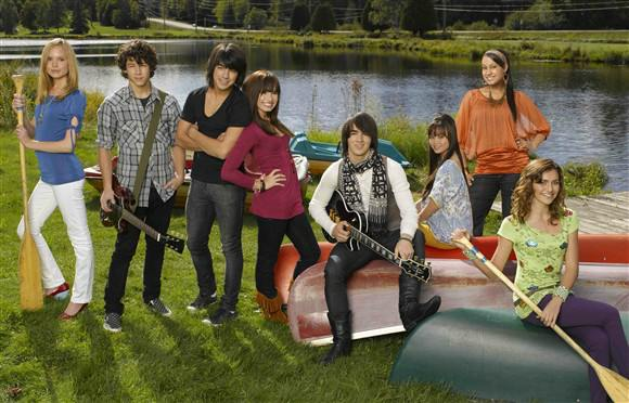 The cast of Camp Rock- image from wonderwall.com
