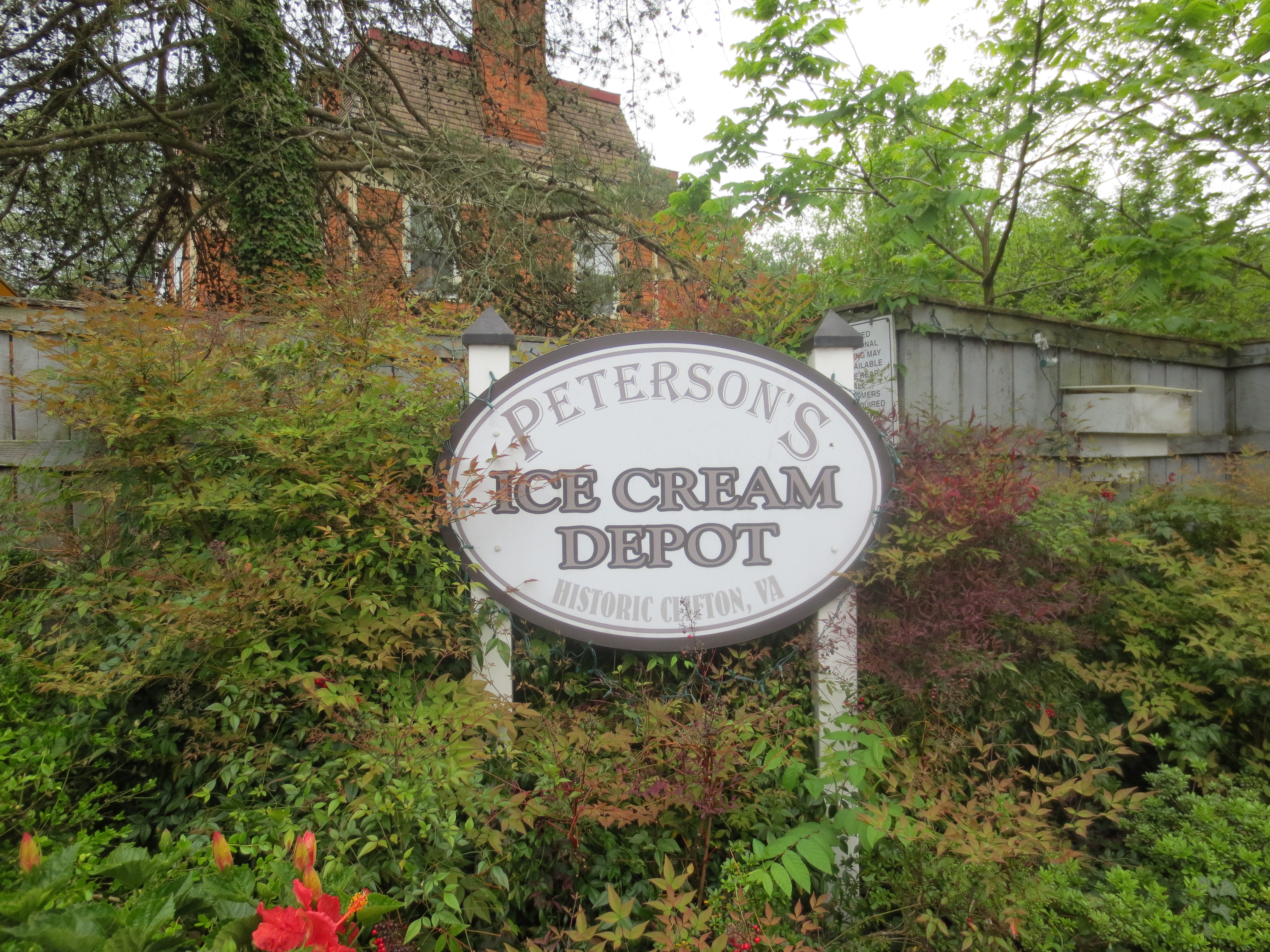 Peterson's Ice Cream Depot in Clifton, Virginia