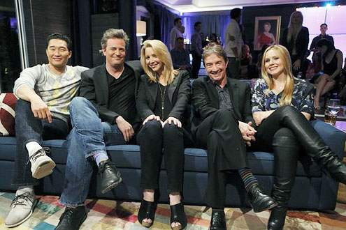 Celebrity contestants ( see, Matthew Perry's hair isn't that bad!)