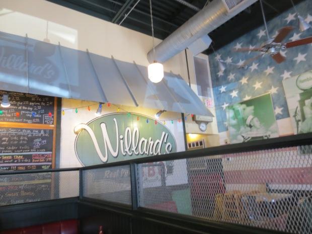 How cool is the decor? I love the big Jasper Johns like flag!