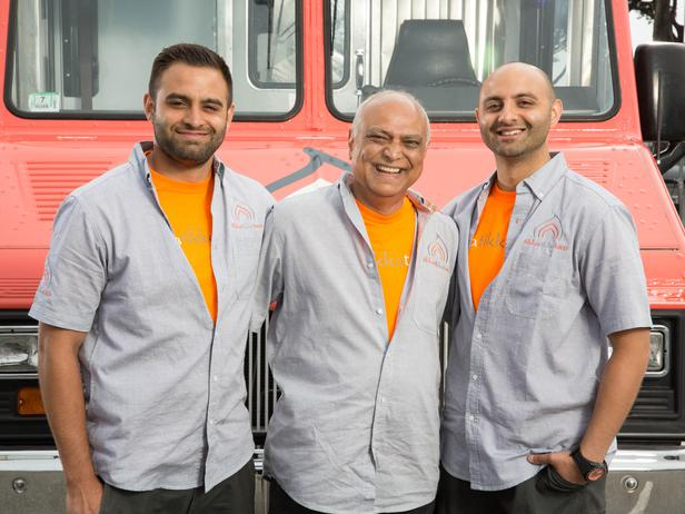 The guys from the Tikka Tikka Taco truck