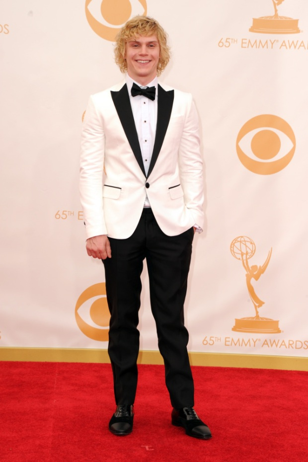 evan peters 65th Annual Primetime Emmy Awards - Arrivals