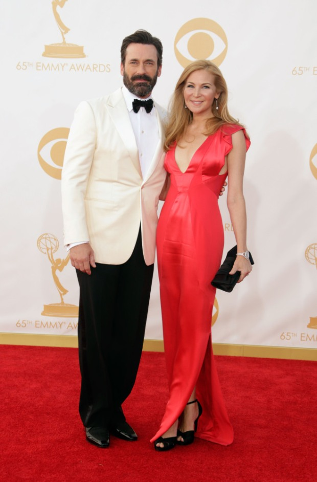 jon hamm 65th Annual Primetime Emmy Awards - Arrivals