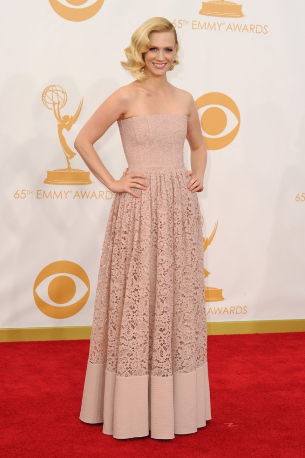 Januarty Jones 65th Annual Primetime Emmy Awards - Arrivals