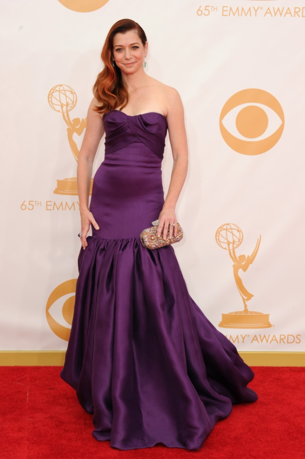 alyson hannigan 65th Annual Primetime Emmy Awards - Arrivals
