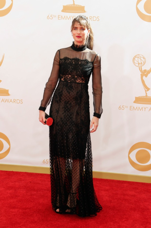 amanda peet 65th Annual Primetime Emmy Awards - Arrivals