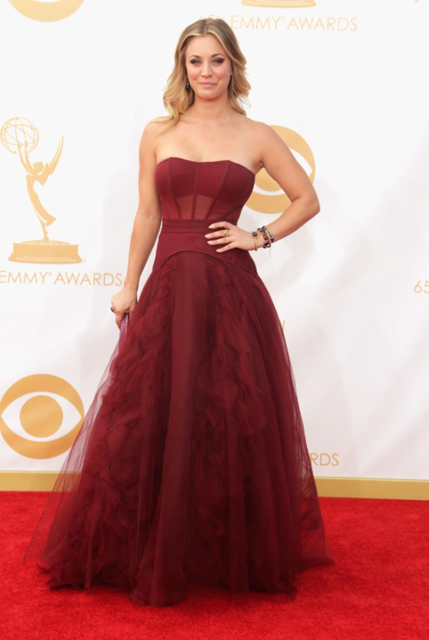 Kaley Cuoco 65th Annual Primetime Emmy Awards - Arrivals
