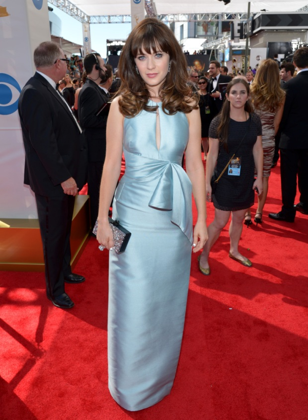 Zooey Deschanel 2013 emmy