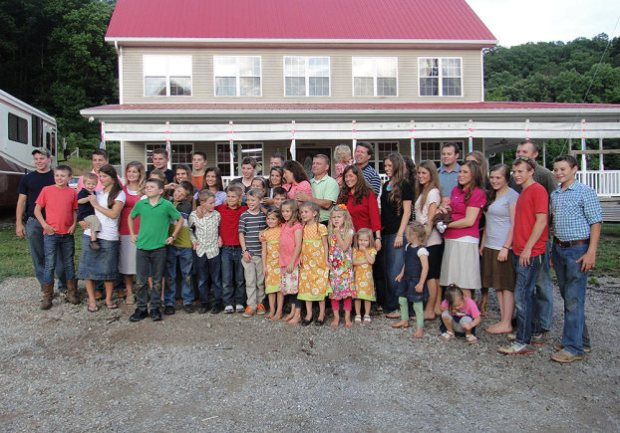 The Duggars and the Bates families