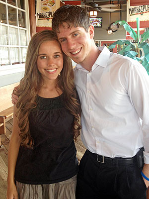 Jessa Duggar with suitor Ben Seewald