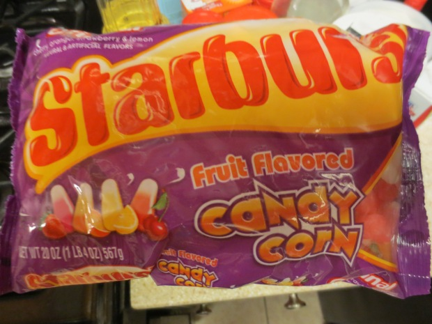 Starburst Candy Corn